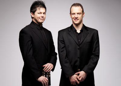 Jasper Wood, violin & Daniel Bolshoy, guitar