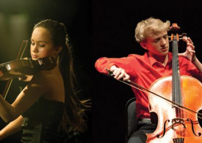 Colleen Venables, violin & Tate Zawadiuk, cello