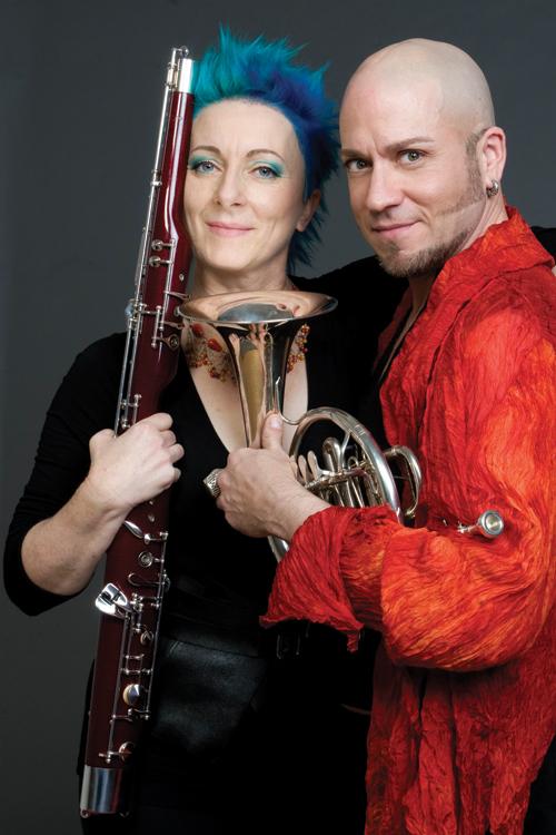Guy Few, piano & trumpet and Nadina Mackie Jackson, Bassoon