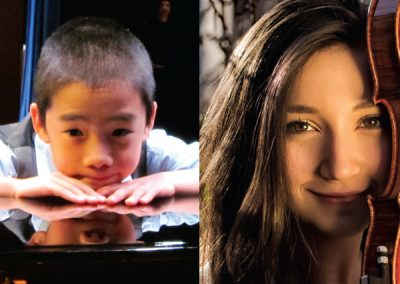 Isabella Perron, violin and Kevin Chen, piano