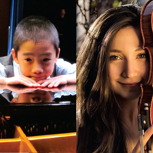 Isabella Perron and Kevin Chen