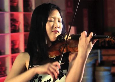 Kevin Chen, piano and Angela Ryu, violin