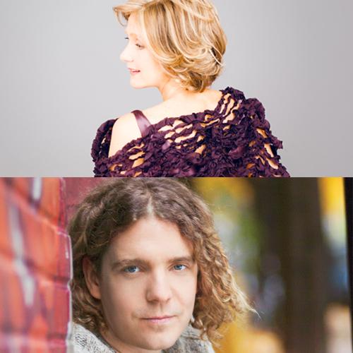 Suzie LeBlanc and Daniel Taylor