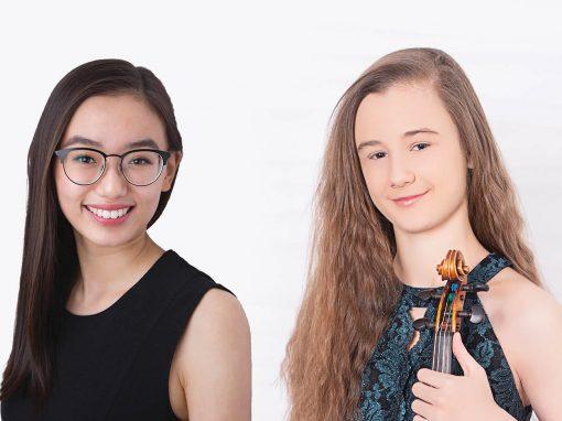 Cynthia Gan, voice & Anna Stube, violin